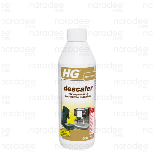 HG descaler for espresso & pod-coffee machines 500 ml