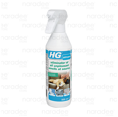HG eliminator of all unpleasant smells at source 500 ml.
