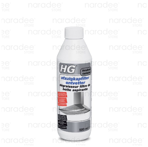 HG cooker hood filter degreaser 500 ml.