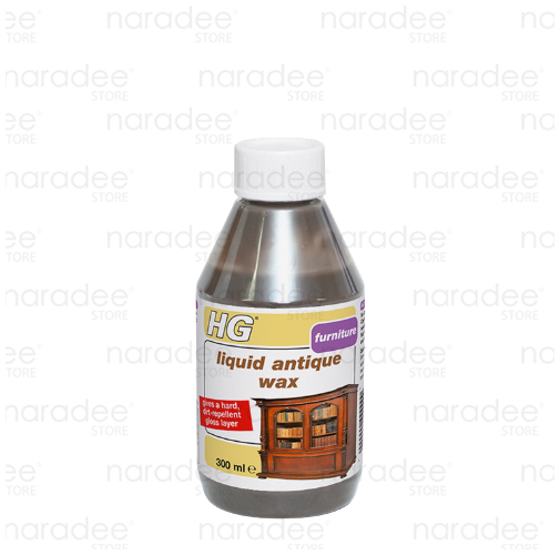 HG liquid antique wax brown 300 ml.