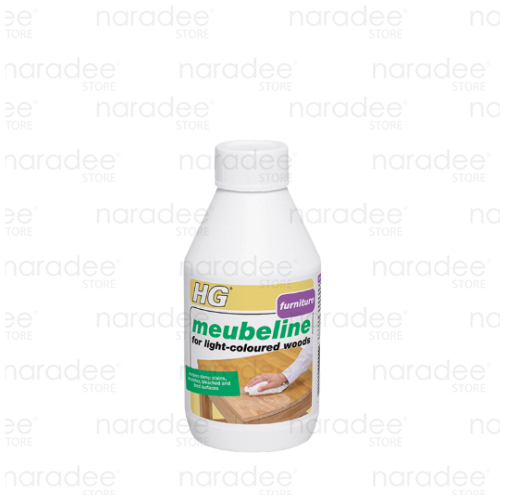 HG meubeline for light-coloured woods 250 ml.