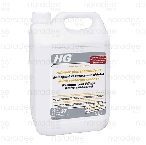 HG natural stone shine restoring cleaner 5 L.