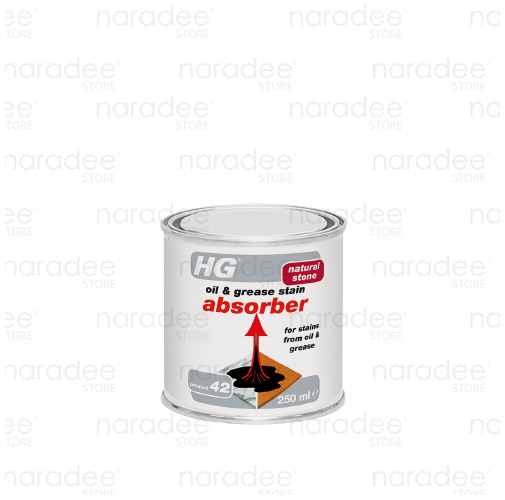 HG oil & grease stain absorber 250 ml.