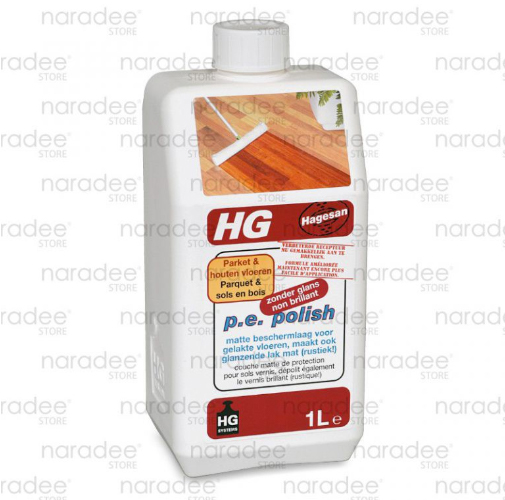 HG parquet protective coating matt finish 1 L.