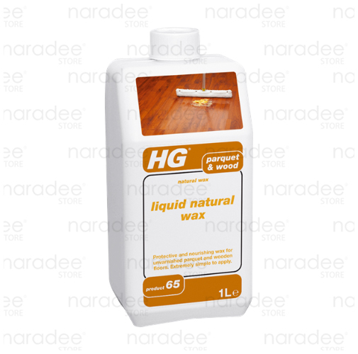 HG liquid natural wax 1 L.