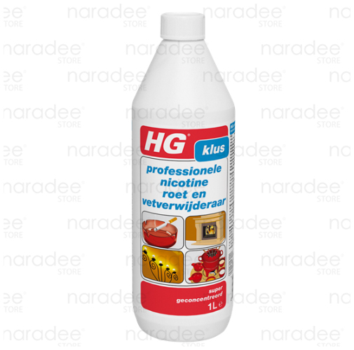 HG professional nicotine, soot and grease remover 1 L.