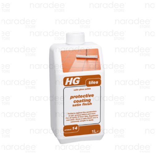 HG tile protective coating satin finish 1L