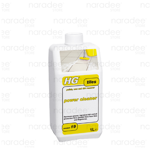 HG tile power cleaner effectively removes grease and caked-on dirt 1L