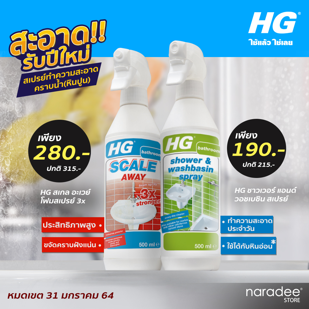 HG New Year Clean